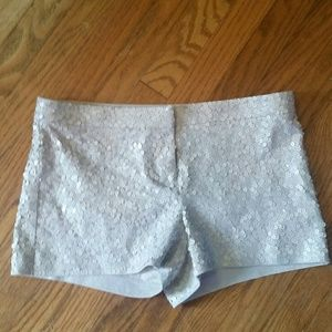 Express Sequined shorts sz.2